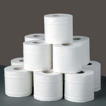 Toilet paper stack